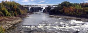 La cascata... in senso geografico... non nel senso dei miei zii a terra!