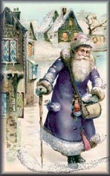 """Ecco per voi un Babbo Natale """"Vittoriano""""!"""