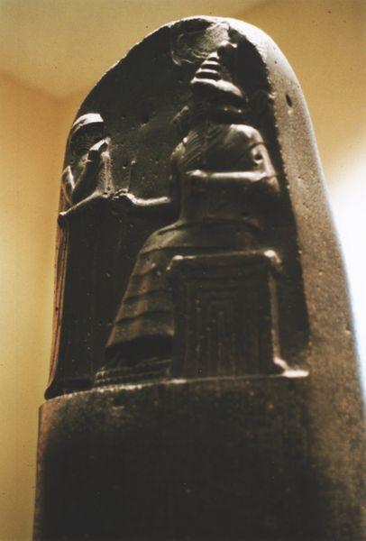 Hammurabi sei un mito... hai persino una stele tutta tua!